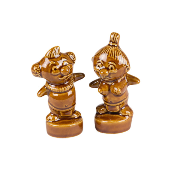 MENEHUNE SALT & PEPPER SHAKERS