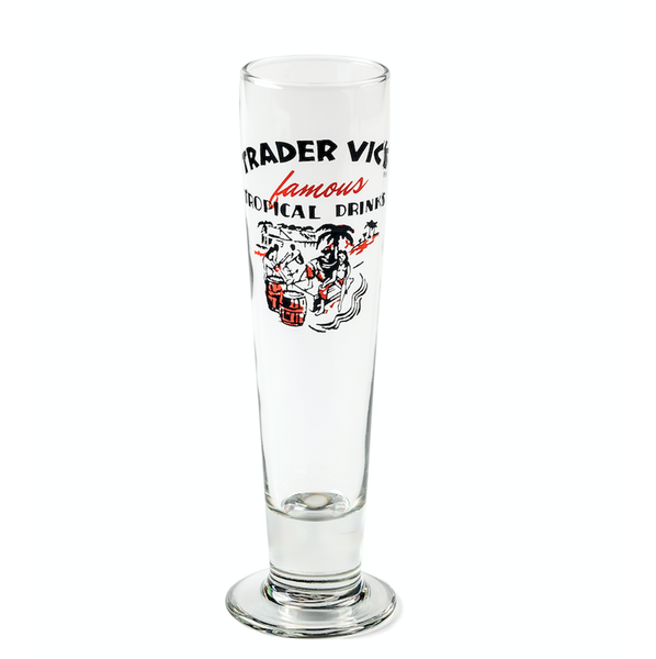 Collectable Trader Vic's Pilsner Glass