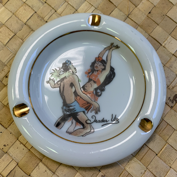 "VINTAGE ASHTRAY ""DANCING COUPLE"""