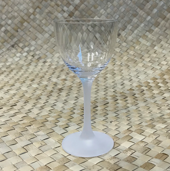 FROSTED STEM COCKTAIL GLASS