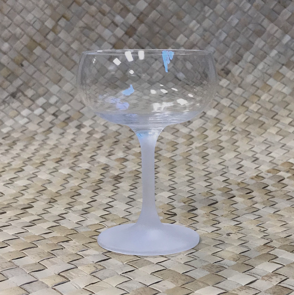 FROSTED STEM CHAMPAGNE GLASS