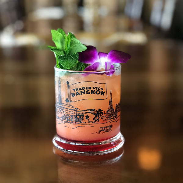 Trader Vic's Bangkok Skyline Glass | Home of the Original Mai Tai