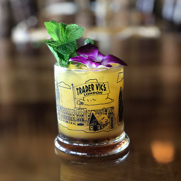 Trader Vic's London Skyline Glass | Home of the Original Mai Tai