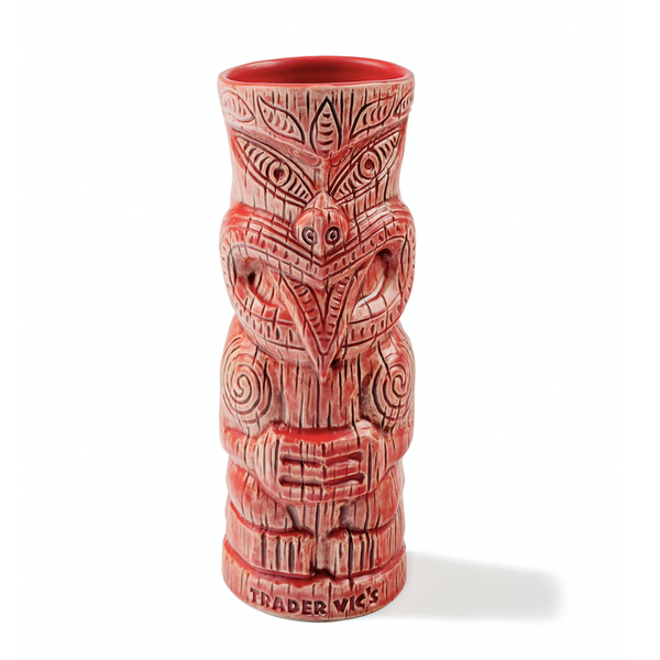 Trader Vic's Maori Haka Mug Red | Home of the Original Mai Tai
