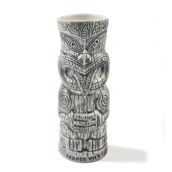Trader Vic's Maori Haka Mug White | Home of the Original Mai Tai