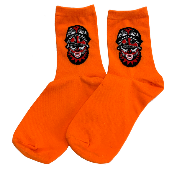 Trader Vic's Mask Socks | Home of the Original Mai Tai