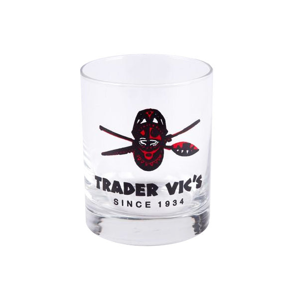 TRADER VIC'S OLD FASHION GLASS