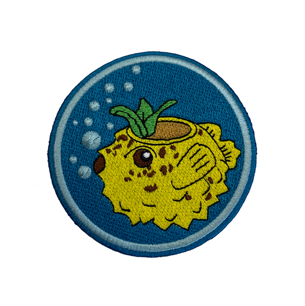 PUFFER FISH PATCH