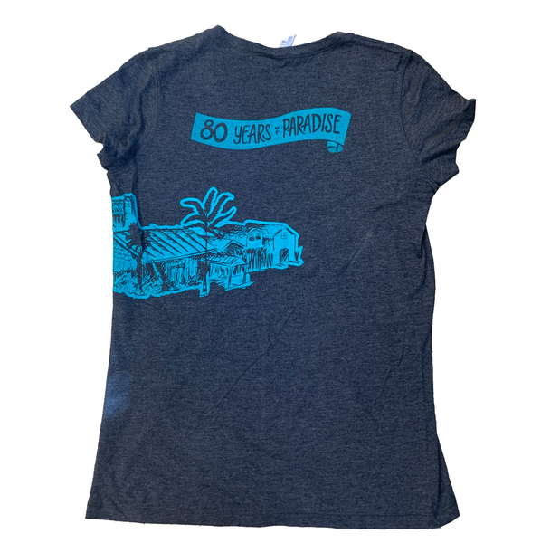 WOMENS 80TH ANNIVERSARY SHIRT