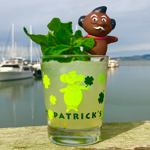ST. PATRICK'S DAY MAI TAI GLASS