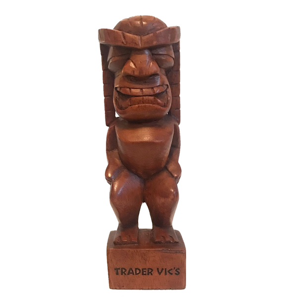 HAND CARVED TIKI 4