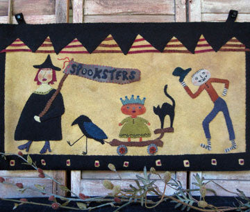 Spooksters Parade Wallhanging Quilt Pattern #RR157 - Kit Available