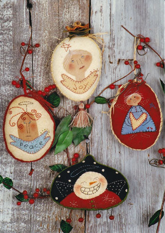 Angelic Woolies Ornaments Pattern #RR68
