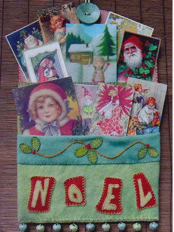 Christmas Card Pockets Pattern #RR119