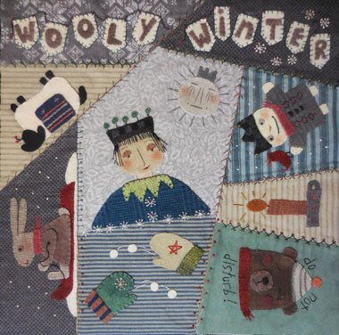 Crazy Seasons Mystery Quilt Block #11   KIT ONLY