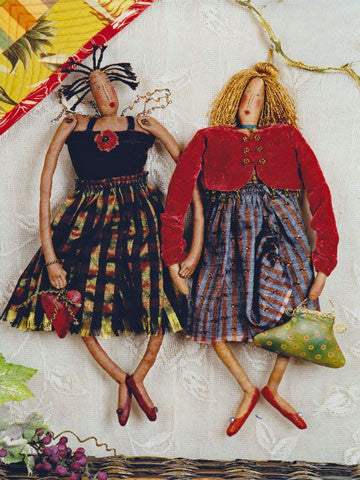Desiree and Olivia Muslin Doll Pattern #RR90