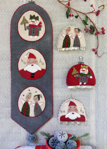 Holiday Bellringer & Ornaments Pattern #RR191
