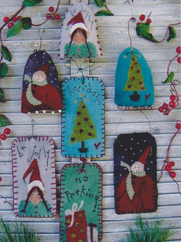 Holiday Gift Tags & Ornaments Pattern #RR104