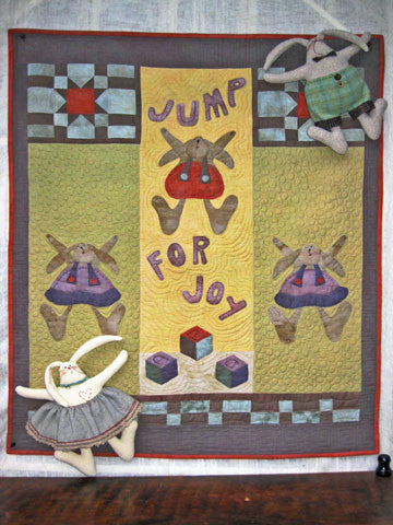 Jump for Joy Quilt Pattern #RR165