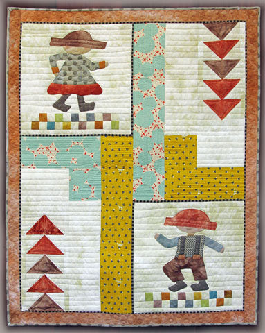 Kid Dance Quilt Pattern #RR192