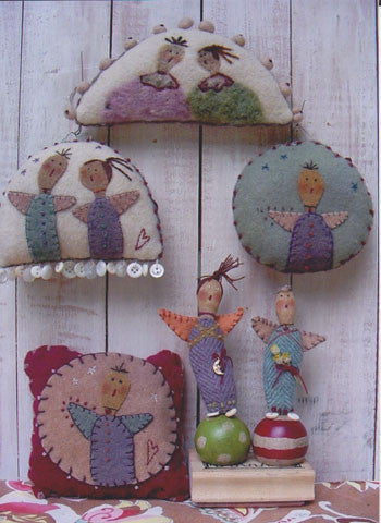 Little Angel Things Ornaments/Pincushion/Sachet Pattern #RR114