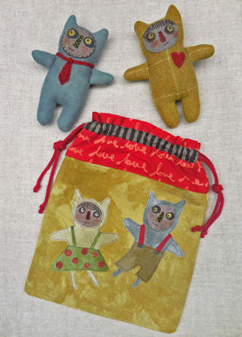 Little Monsters - Bag & Doll Pattern #RR193