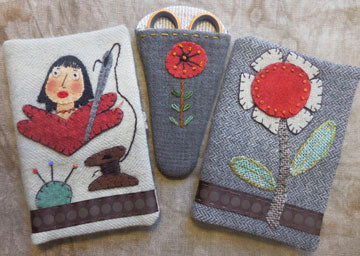 Mini Scissors & Needle Case Pattern and/or Kit - Revised #RR162