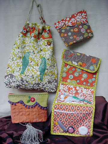 On the Road Again - Part 2 Bags and Pouch Patterns #RR138