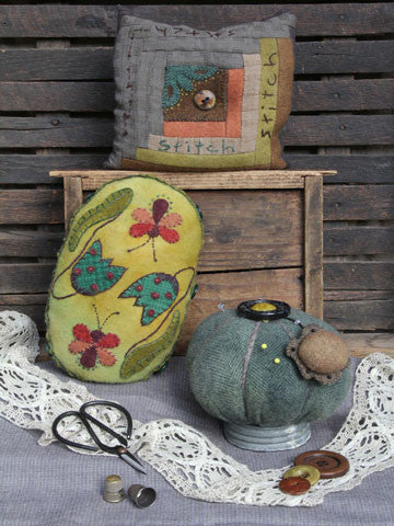 Pincushion Trio Pattern #RR154