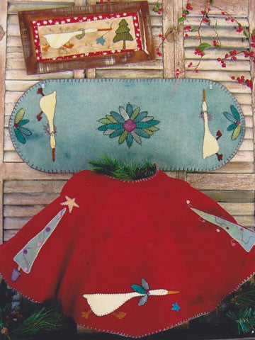 Run Goose Run Tree Skirt Pattern #RR112