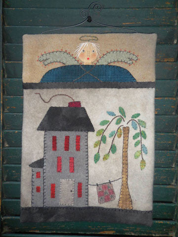 Saltbox Angel Pattern #RR181 Or Wall Hanging Kit #AK181