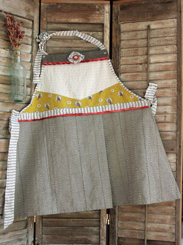 Sassy Little Apron Pattern #RR158