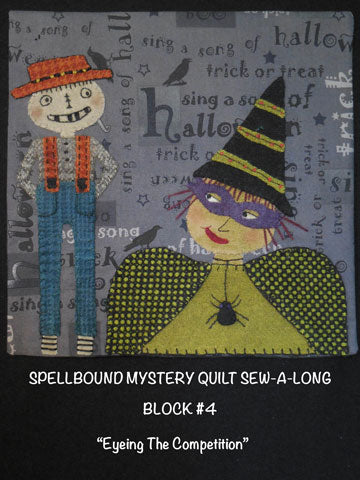 Spellbound Mystery Quilt Block #4 - PRINTED PATTERN ONLY