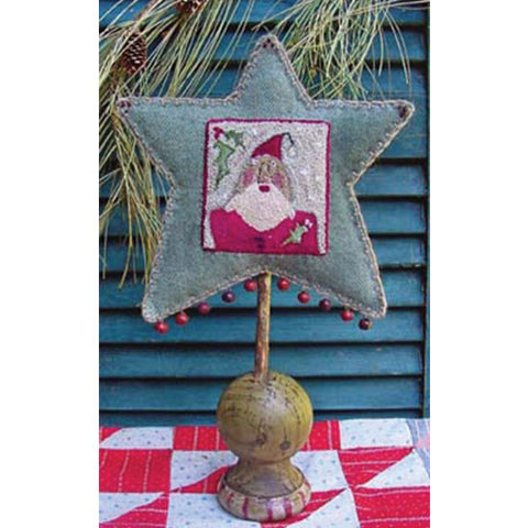 Star Santa Punch Needle Pattern #RPN-2232