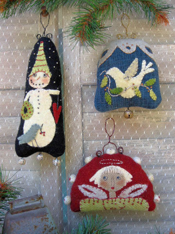 Three Little Woolies Ornaments Pattern #RR163 - Kit Also Available