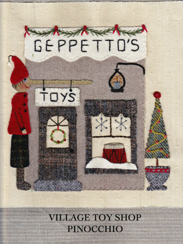 Christmas Village Toy Shop  Pattern And Kit