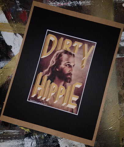 Dirty Hippie art print