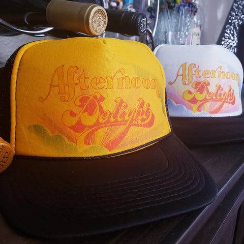 Afternoon Delight trucker hat