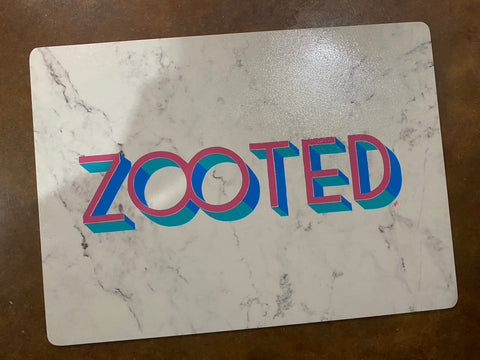 Zooted (original rolling tray or placemat)