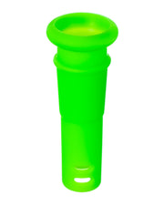 "18mm to 14mm Silicone Downstem 1"" Green"