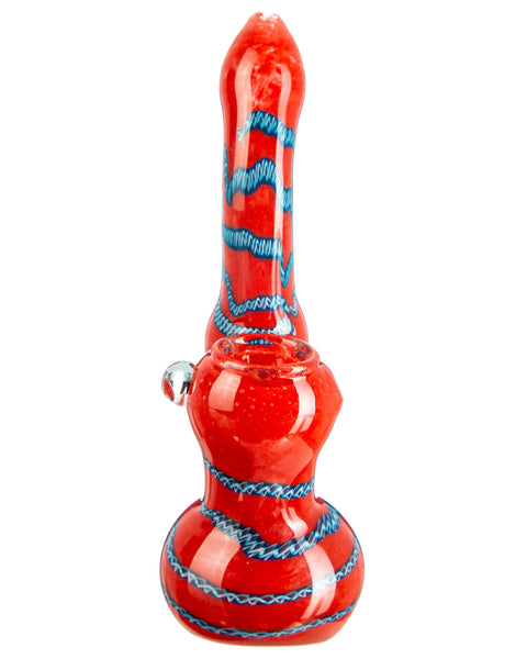 Red and Blue Bubbler