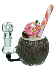 Empire Glassworks Coconut Colada Mini Bong - Check It Out