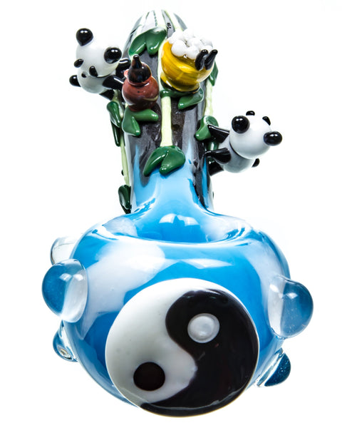 Empire Glassworks - Yin & Yang Panda Pipe