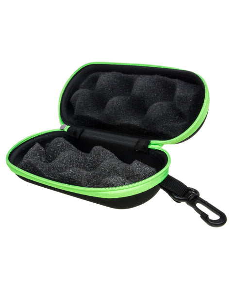 black and green pipe case