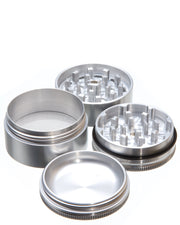 Santa Cruz Shredder - Medium 4 Piece Herb Grinder