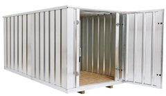 Economy steel storage containers
