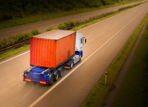 Container road freight