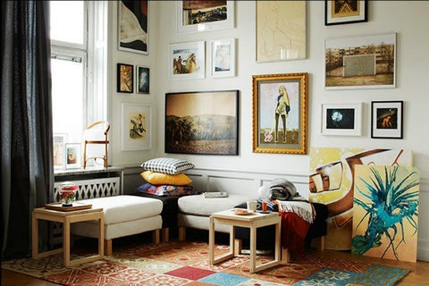 Gallery wall or clutter