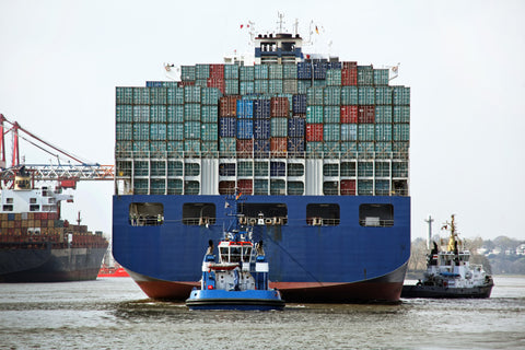 17 million containers doing 200 million trips worldwide per annum.