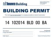 Building Permit for shipping container